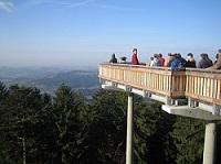 WaldWipfelweg Aussicht Bayerischer Wald