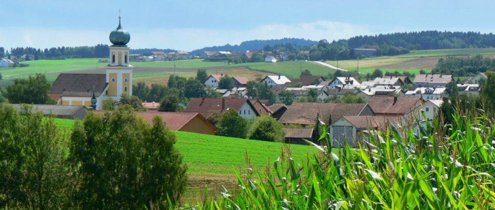 gschwandnerhof-bauernhof-bayerischer-wald-wanderurlaub-michelsneukirchen-ortsansicht-panorama